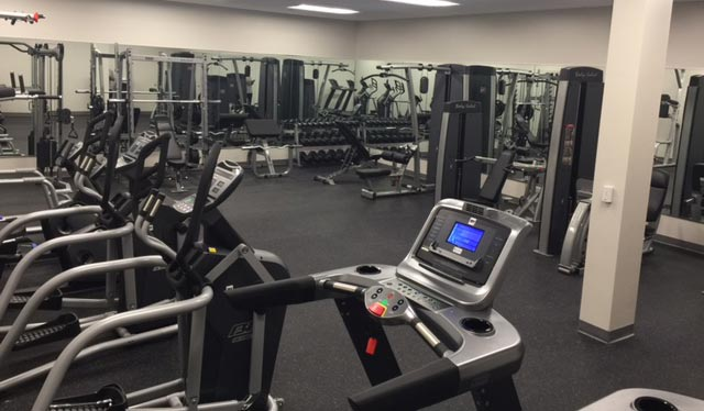 Ecolab Commercial Fitness installation from Carolina Fitness Experts