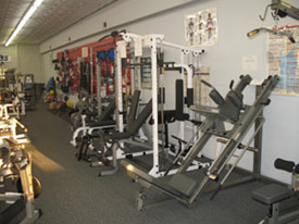 Fitness equipment from Carolina Fitness Experts